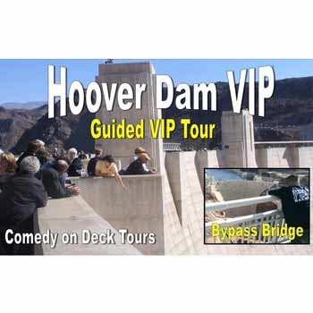 Comedy on Deck Tours Hoover Dam