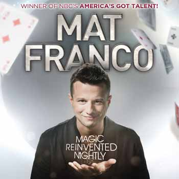 Mat Franco Vegas Magic Show