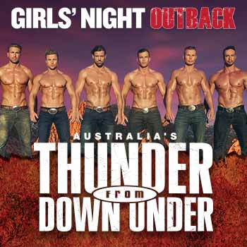Thunder From Down Under Las Vegas