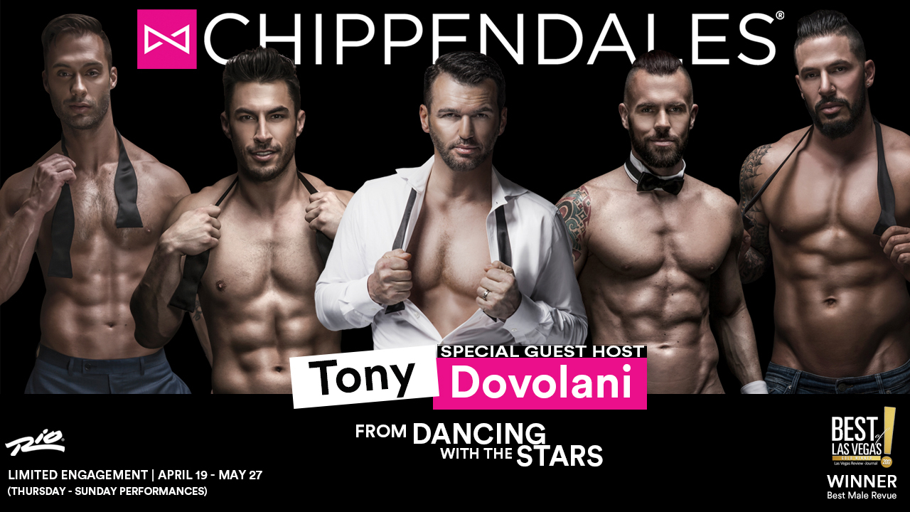 Chippendales Live in Las Vegas Tony D