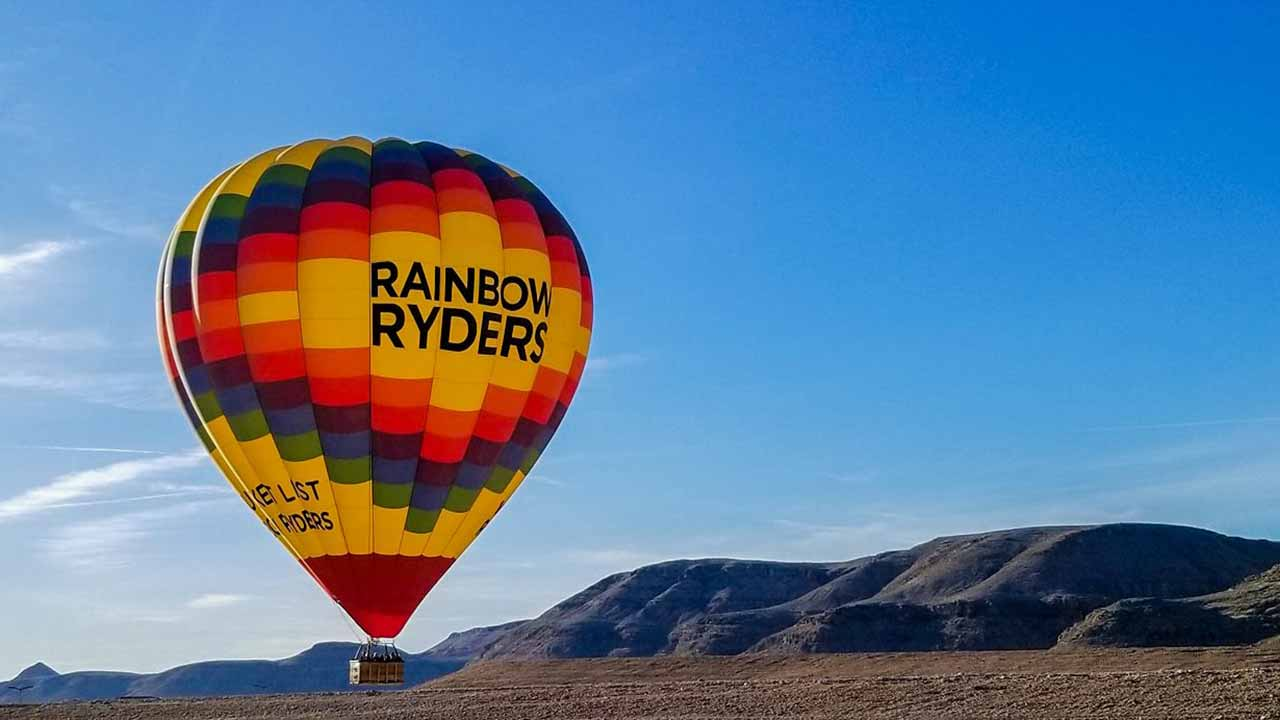 Rainbow Hot Air