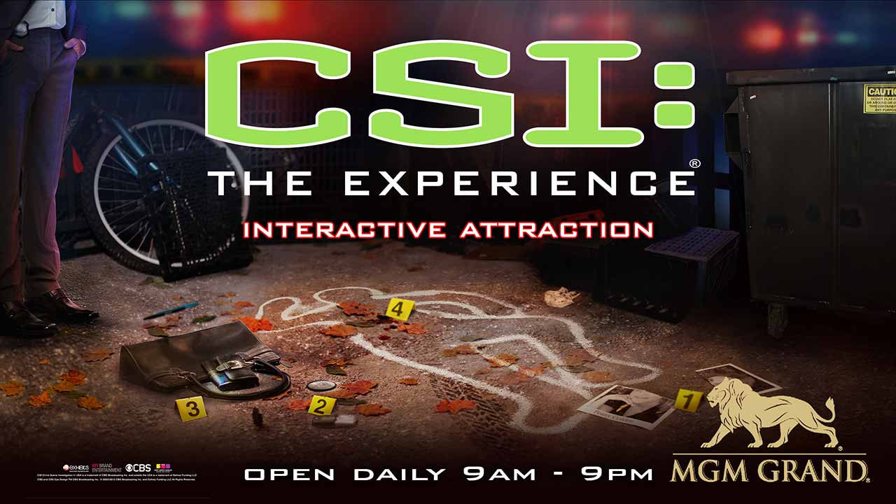 CSI The Experience Vegas Interactive