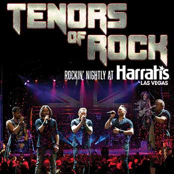 Tenors of Rock Las Vegas Tribute Show