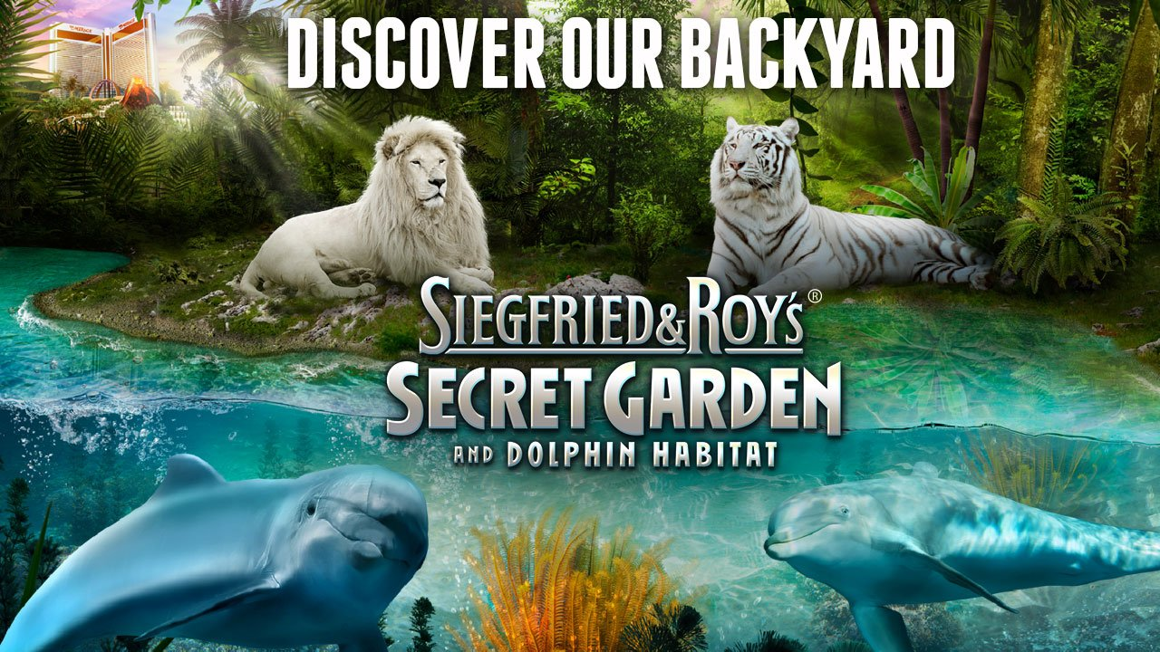 siegfried roy the duo behind decades of las vegass greatest productions featuring wild animals now gives audiences the opportunity to get close to many - Siegfried And Roy Secret Garden