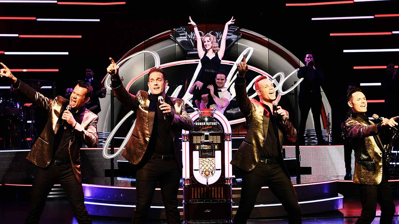Human Nature Jukebox Live in Vegas