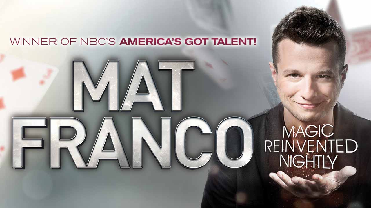 Mat Franco Vegas Magic Shows