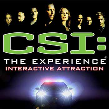 CSI The Experience Vegas Interactive Attraction