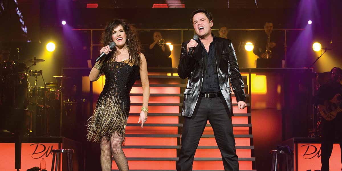 Donny and Marie in Las Vegas 4