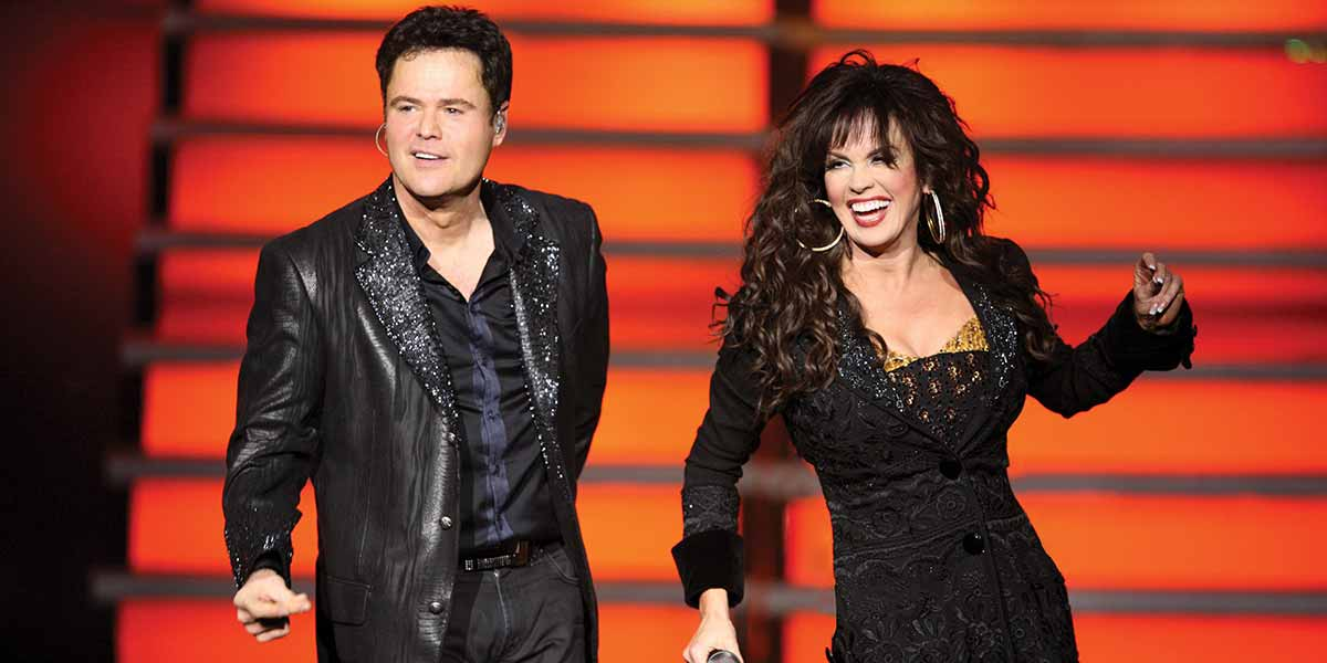 Donny and Marie in Las Vegas 5