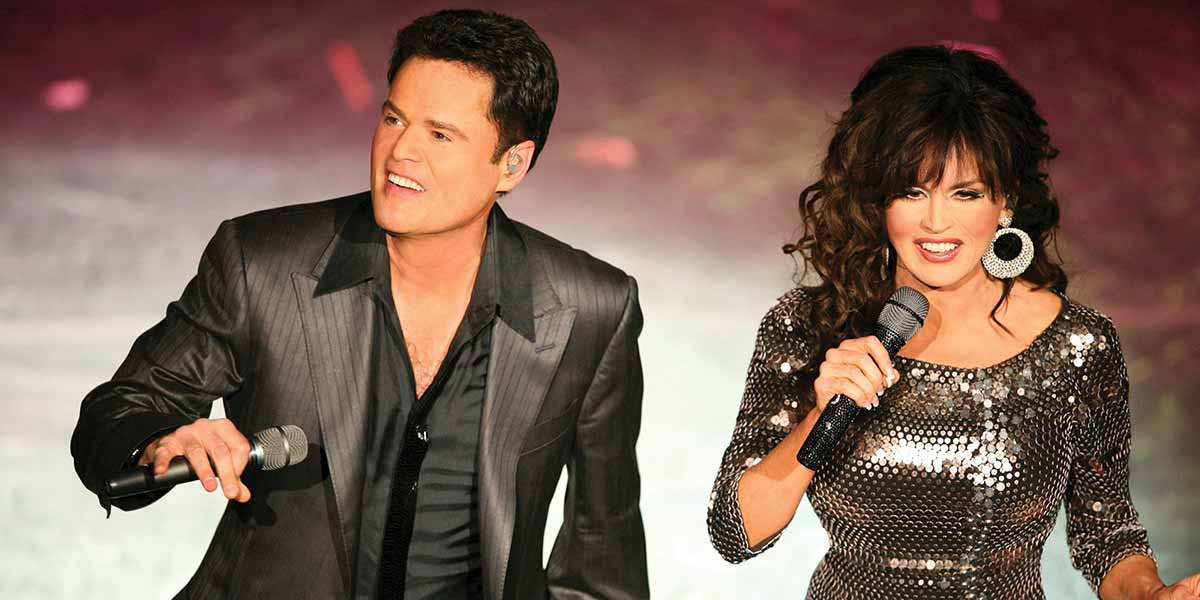 Donny and Marie in Las Vegas 6