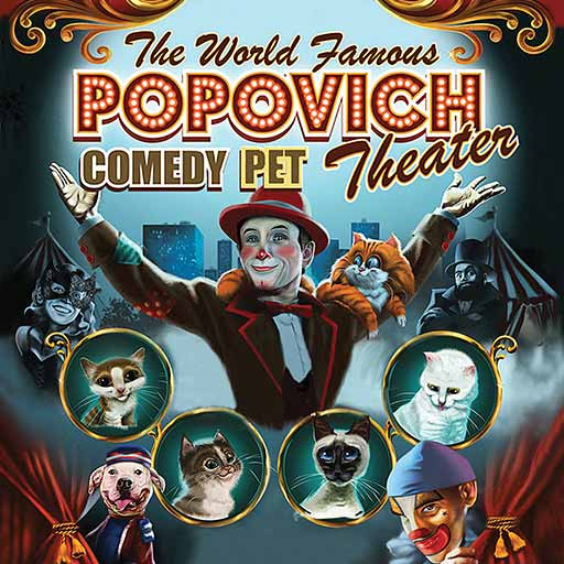 Popovich Comedy Pet Theater Las Vegas 6