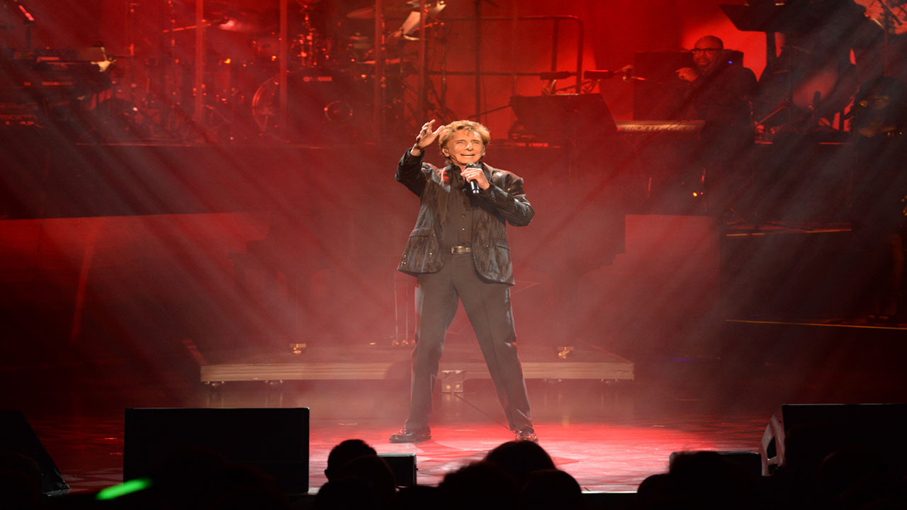 Barry Manilow Production Photo