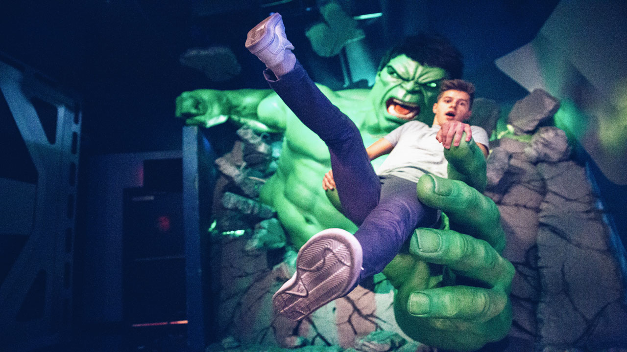Madame Tussauds Las Vegas Incredible Hulk