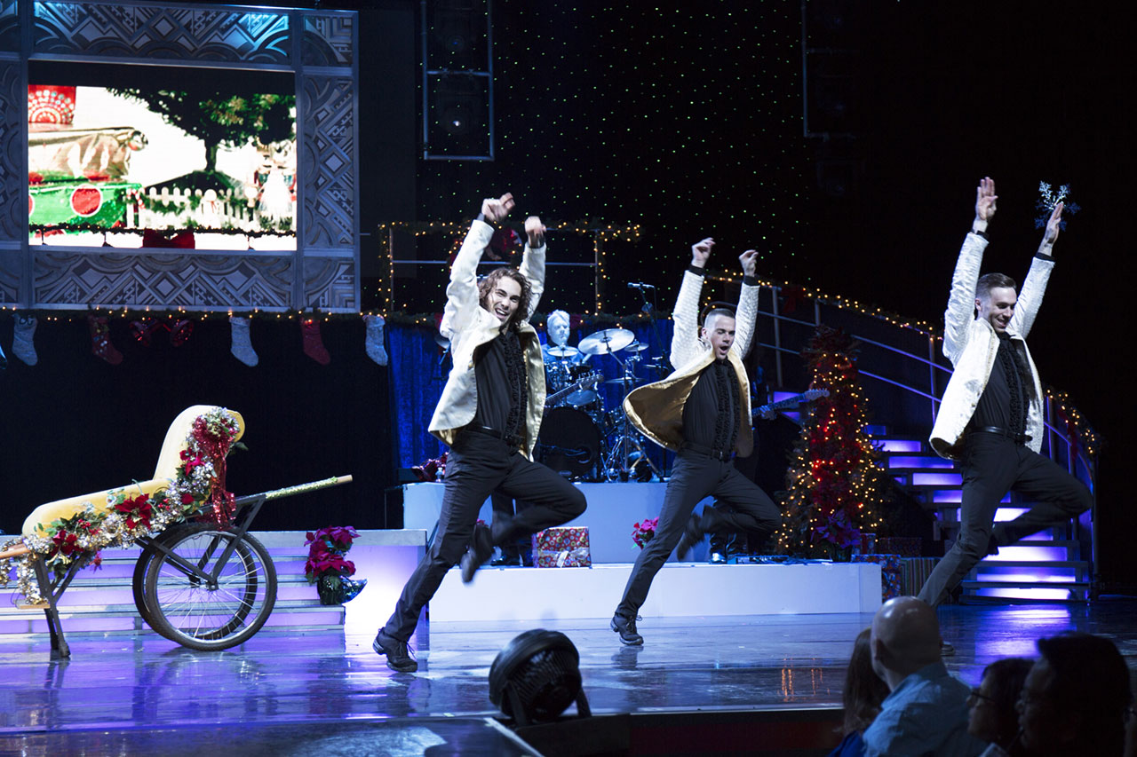 Legends In Concert Las Vegas Holiday Show Production Photo