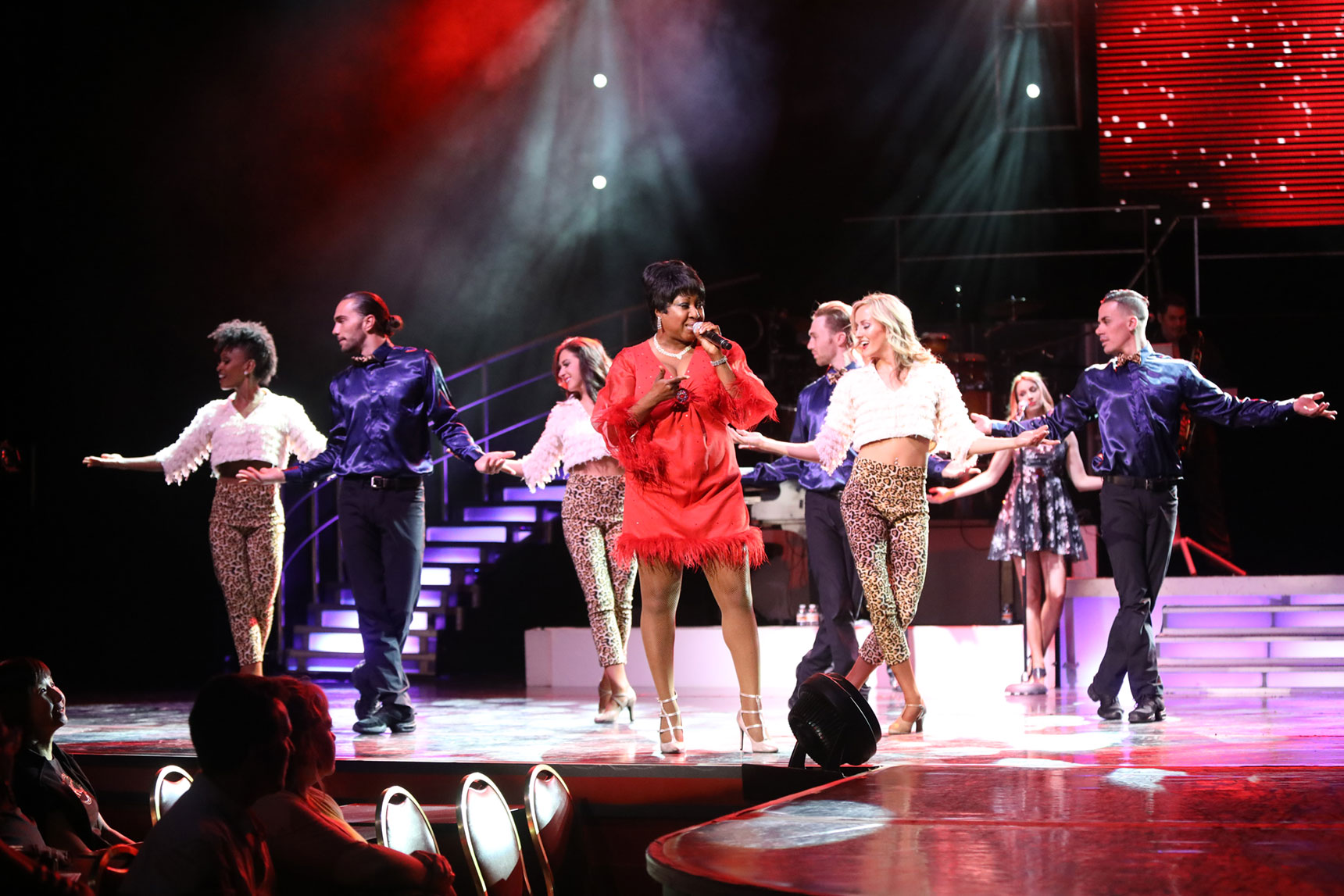 Legends In Concert Las Vegas Holiday Show Aretha Franklin