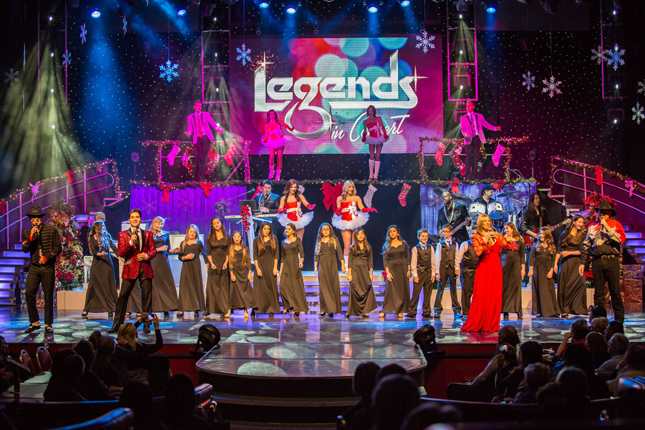 Legends In Concert Las Vegas Holiday Show Final Act