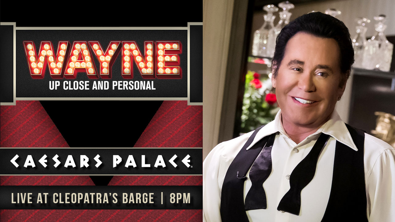 Wayne Newton Up Close And Personal Las Vegas