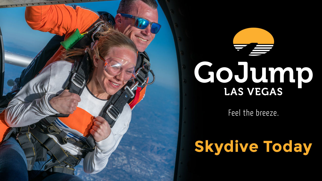 Go Jump Sky Diving Las Vegas