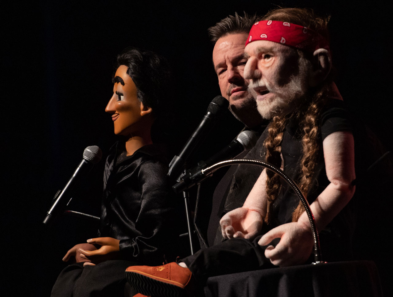 Terry Fator Las Vegas Fernando And Willie Nelson