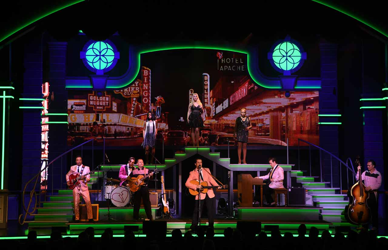 Elvis Presley's Heartbreak Hotel Vegas Production Downtown