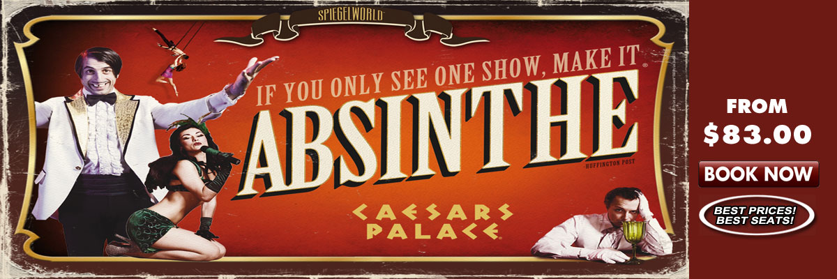 Absinthe Las Vegas Caesars Speigelworld Production