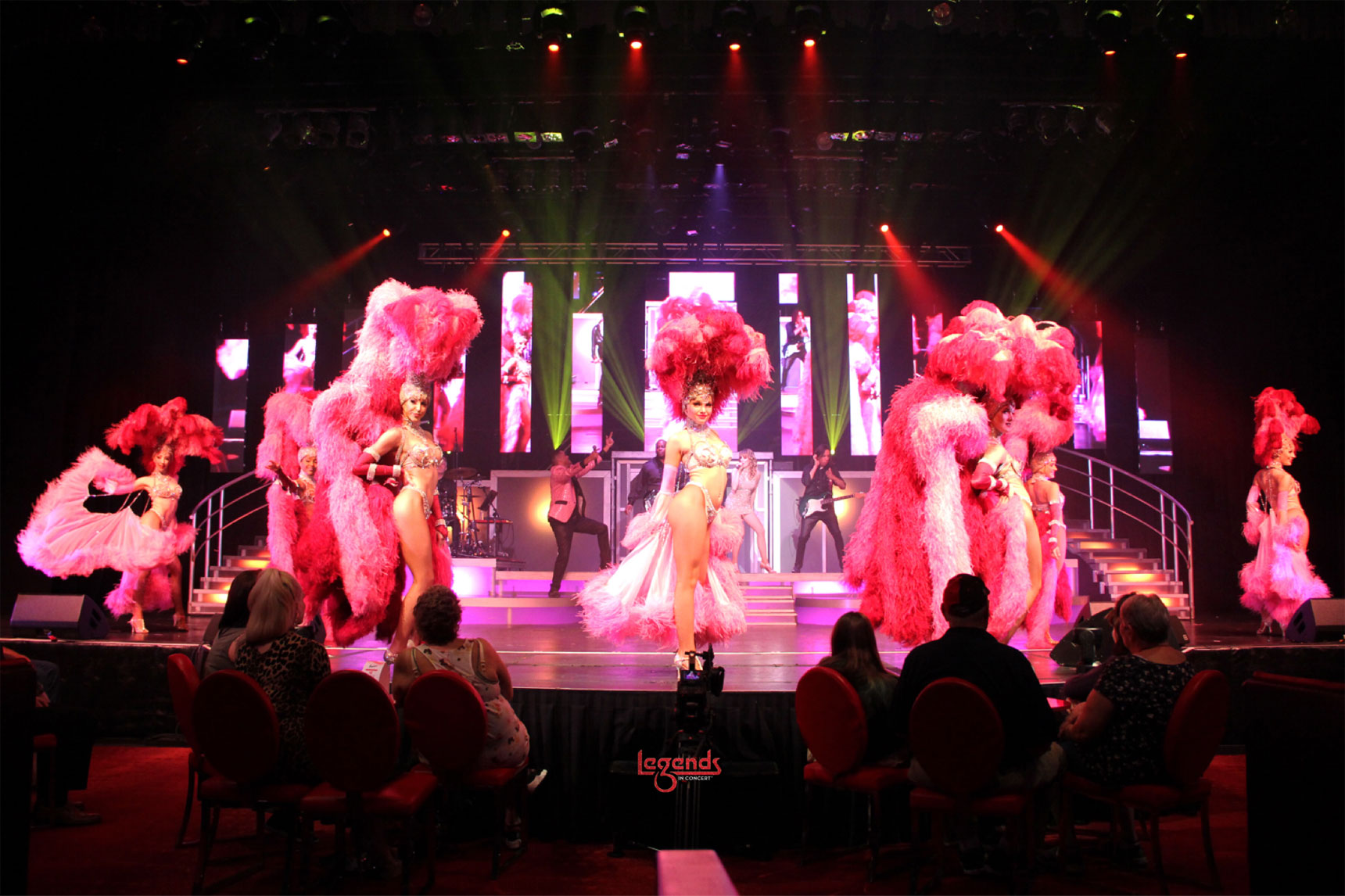 Legends In Concert Frank Marino Vegas Showgirls