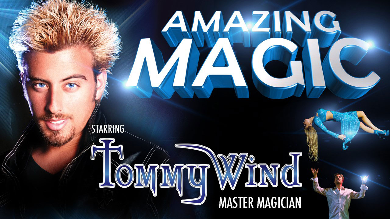 Tommy Wind Master Magician Las Vegas