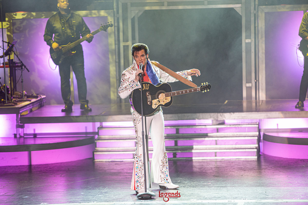 Legends In Concert Vegas Tropicana Elvis Presley 1