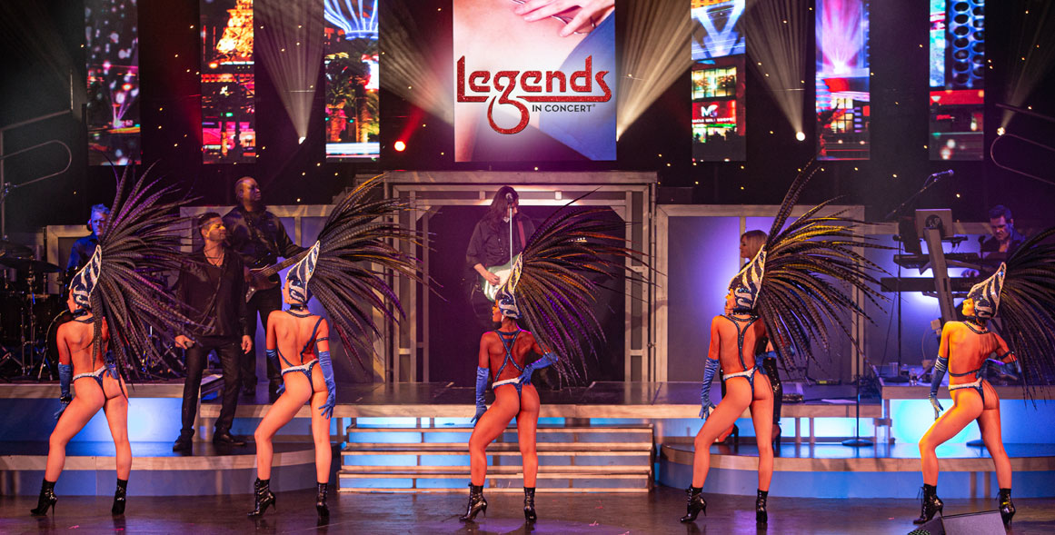 Legends In Concert Vegas Tropicana Showgirls