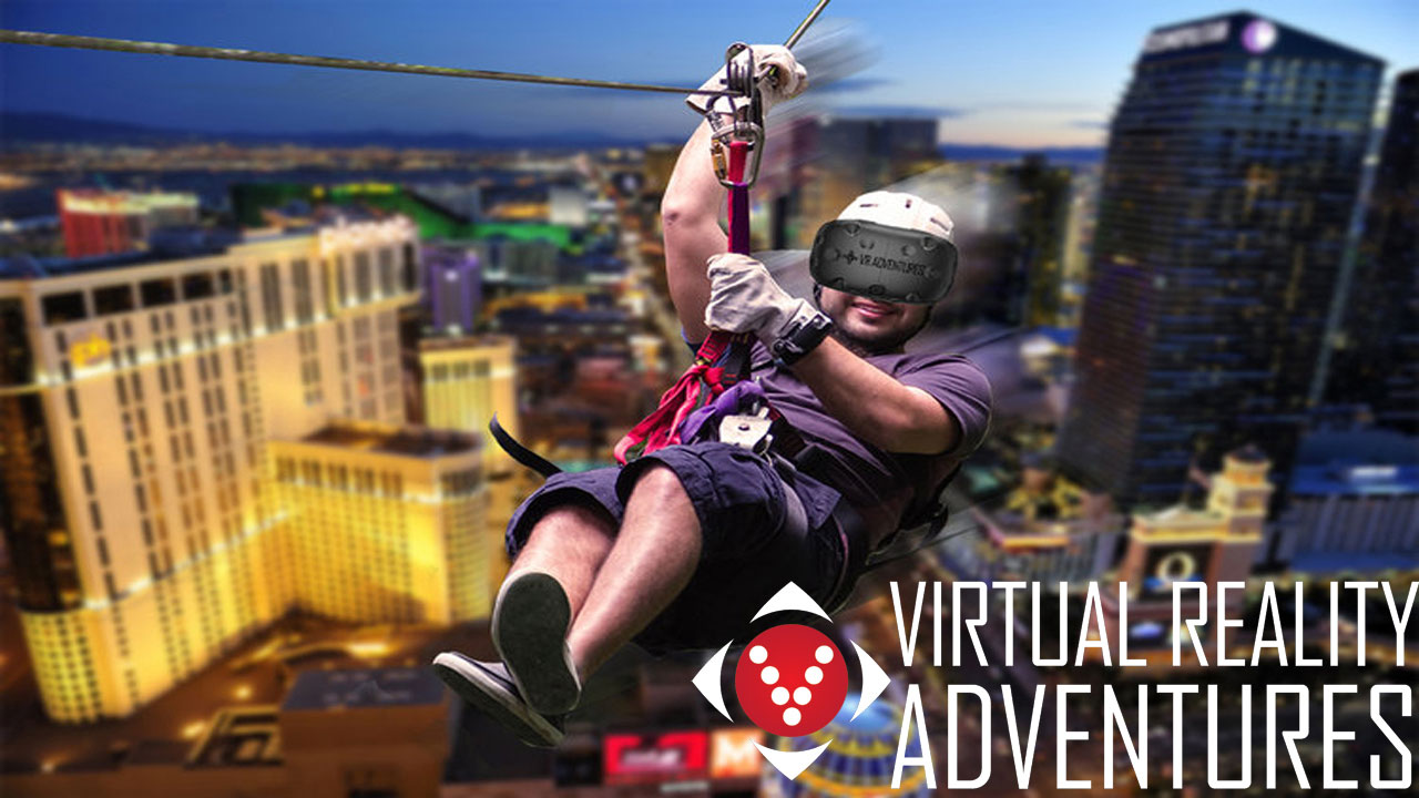 Virtual Reality Adventures Las Vegas Attraction