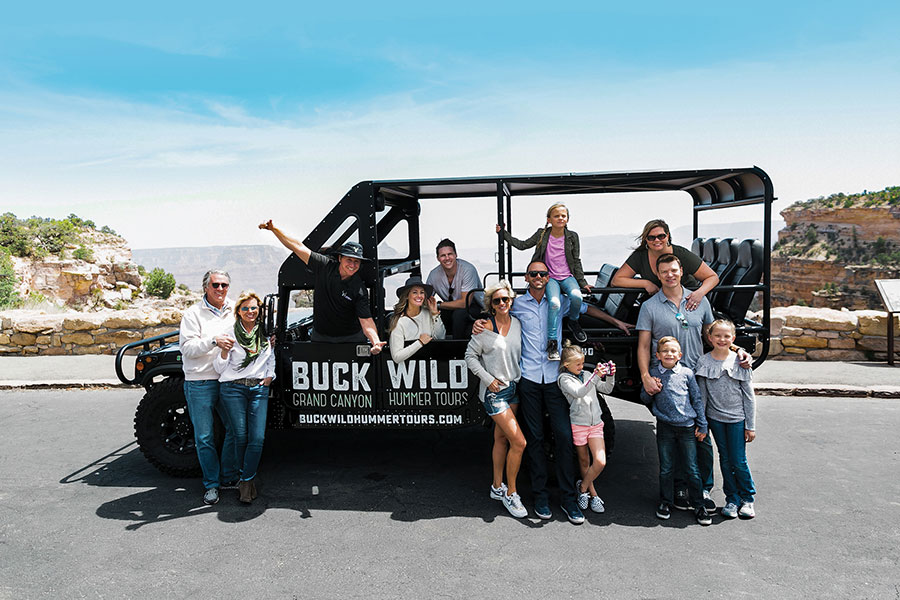 Las Vegas to Grand Canyon South Rim by Bus with Buck Wild Adventure 10