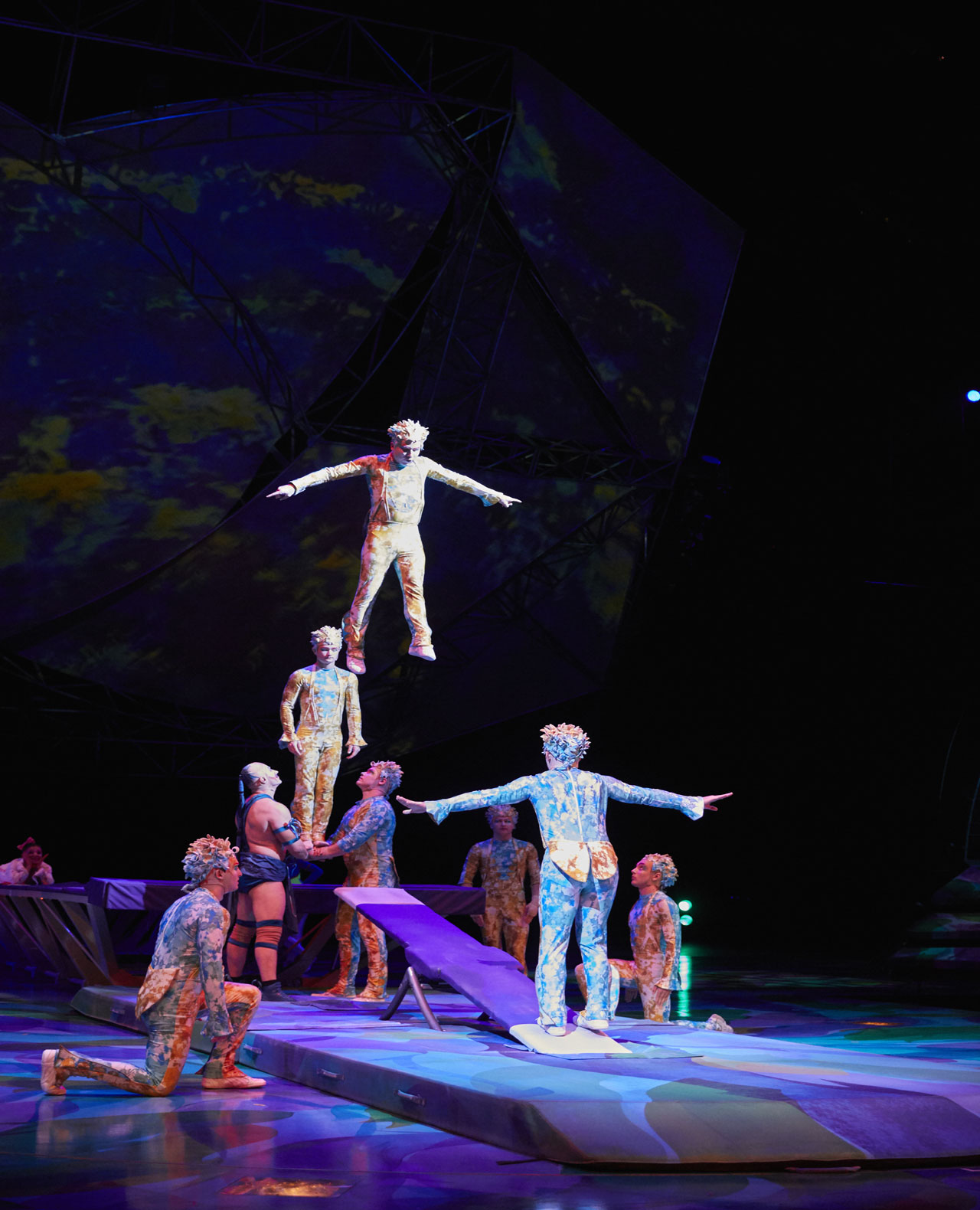 Cirque Du Soleil Mystere Production Photo